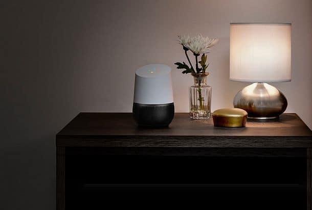 Интерактивное устройство голосового управления Google Home