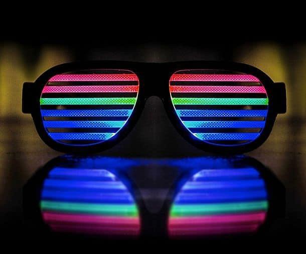 Светодиодные очки DropShades
