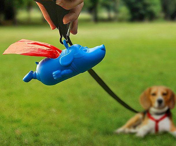 Диспенсер для собачьих гигиенических пакетов «Могучий пёс»