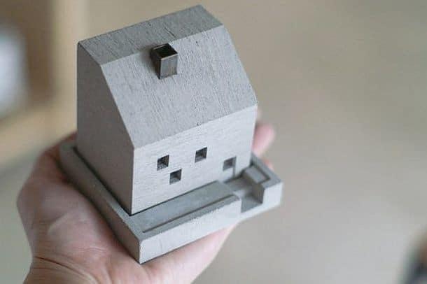 Миниатюрный домик для благовоний от Нобухиро Сато