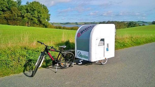 Мини-кемпер для велосипеда Wide Path