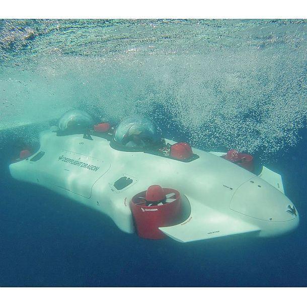 Подводная лодка для двоих Undersea Aquahoverer