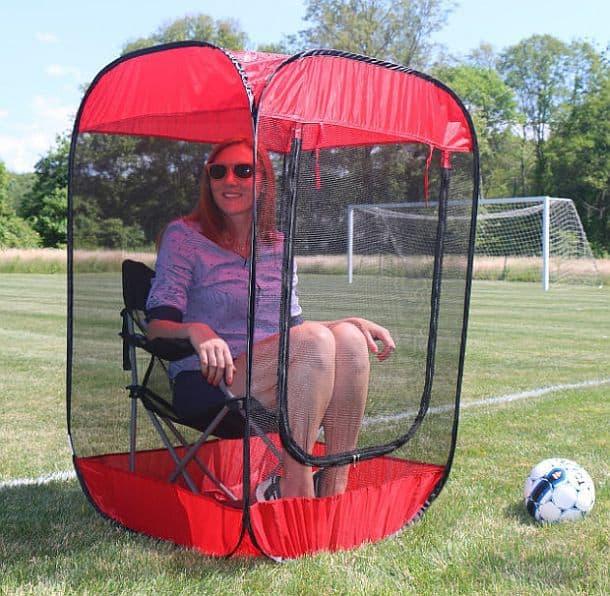 Антимоскитный домик со стулом Insect-a-Hide Pop-Up Shelter