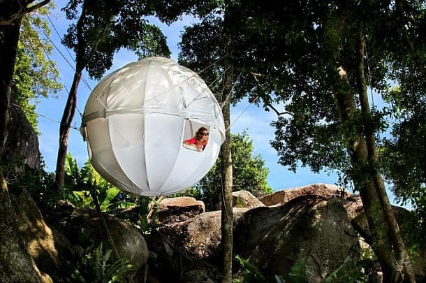 Подвесная палатка от Cocoontree