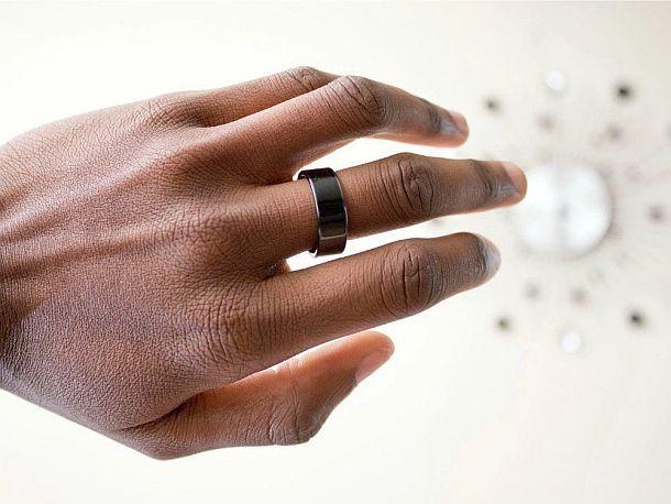 Умное кольцо с функцией коммуникации ближнего поля Horizon NFC