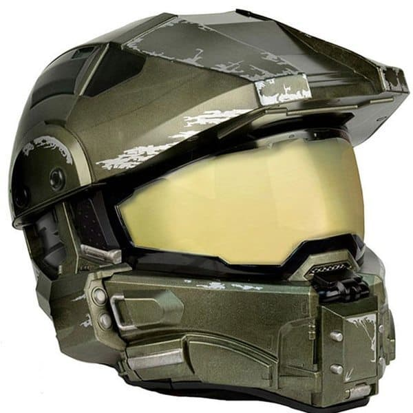 Мотоциклетный шлем по мотивам Halo