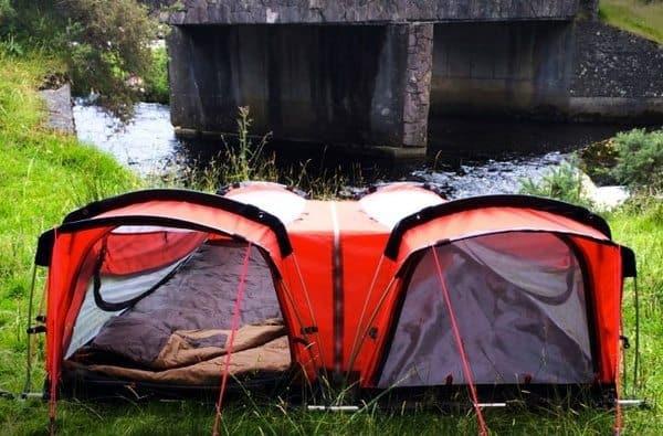 Гибридная одноместная палатка Crua Hybrid