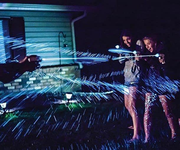 Биолюминисцентный водяной пистолет Splashlight