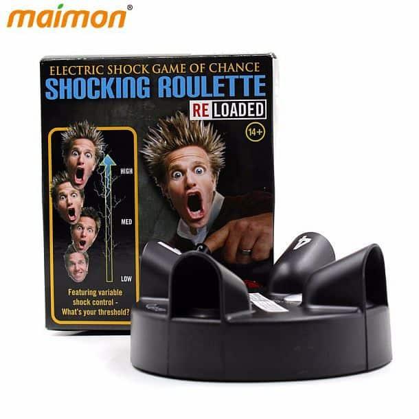 Настольная игра рулетка-электрошокер «Шокирующая рулетка»