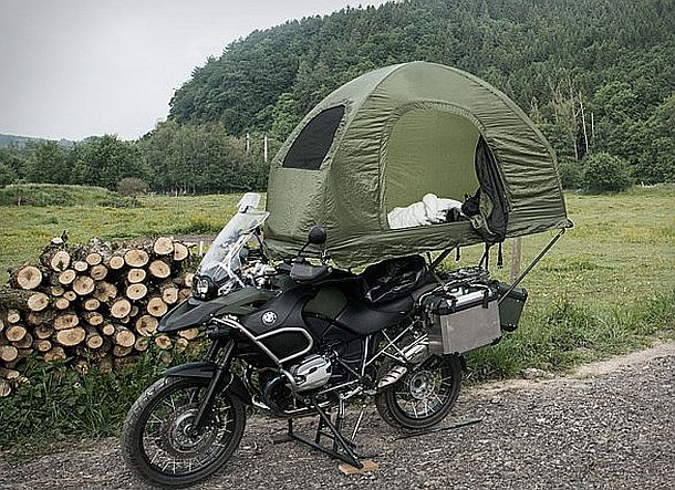 Палатка для мотоциклистов Mobed
