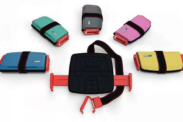 Портативное складное детское автосиденье Mifold Booster