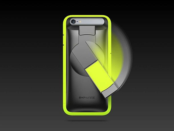 Чехол для смартфонов с ручным генератором для зарядки