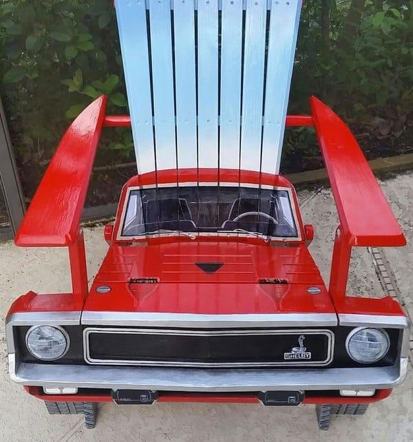 Кресла в виде классических автомобилей от Phil Curren