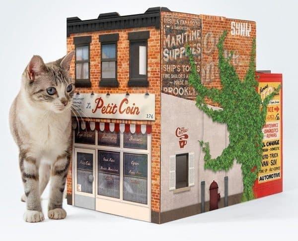 Домик для кошки в виде бруклинского домика