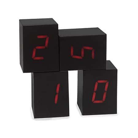 Электронные часы из отдельных блоков