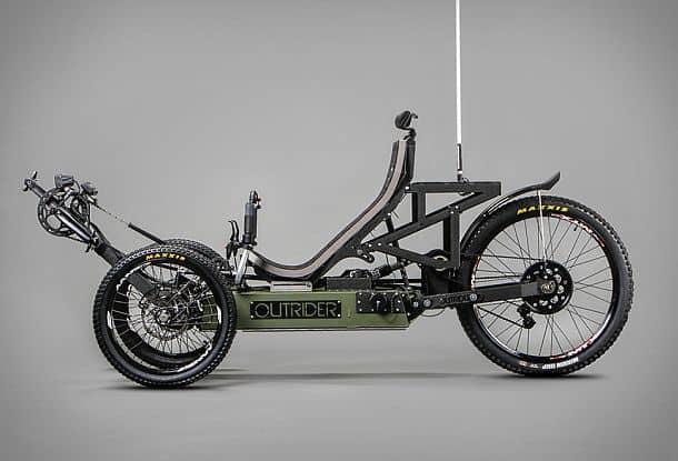 Велосипед с электродвигателем Outride