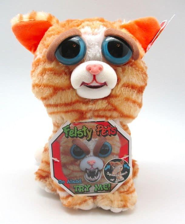 Механические мимические игрушки Feisty Pets