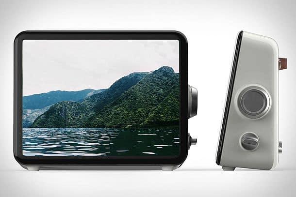 Настольный дисплей для цифровых фотографий и видеоматериалов Loop