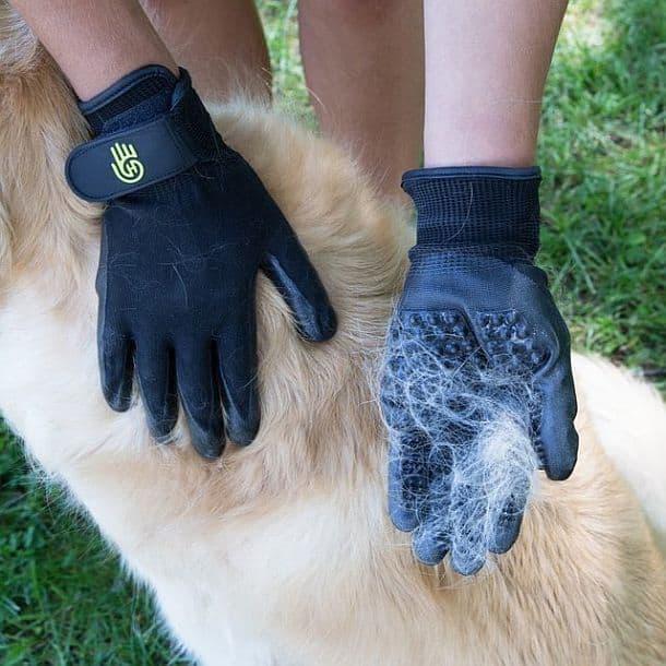 Перчатки для ухода за животными HandsOn