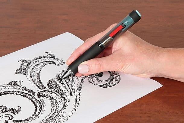 Электронная импульсная авторучка для точечных иллюстраций Cuttlelola Dotspen