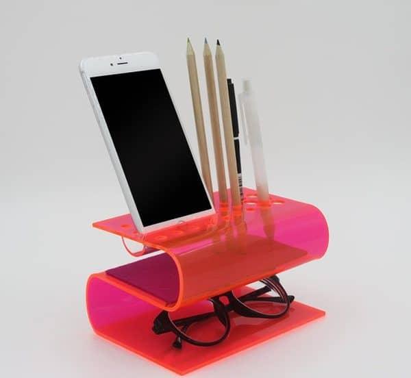 S-образный органайзер с подставкой для iPhone