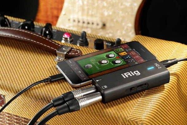 Гитарный интерфейс iRig HD 2 для iPhone