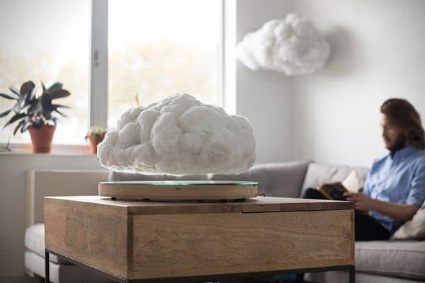 Левитирующая bluetooth-колонка в виде облака