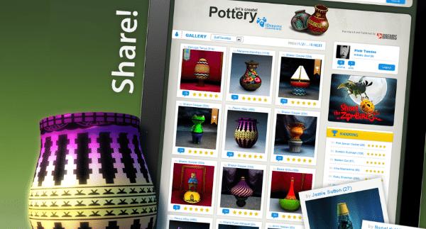 Виртуальная гончарная мастерская Let's Create! Pottery