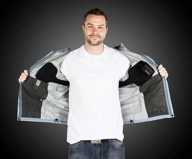 Аккумуляторный подогреватель для верхней одежды Torch