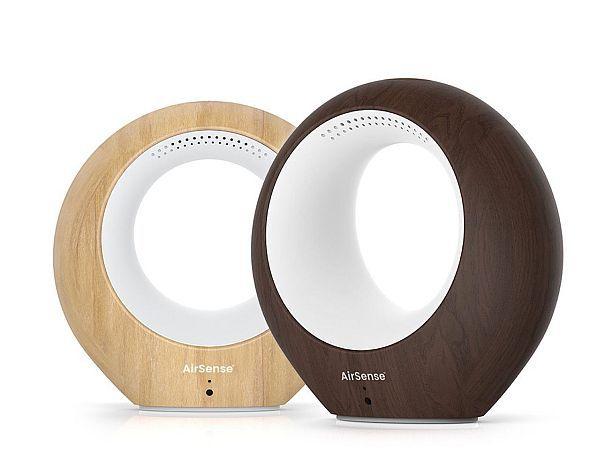 Анализатор и очиститель воздуха с аудиоколонками AirSense Smart Air Monitor