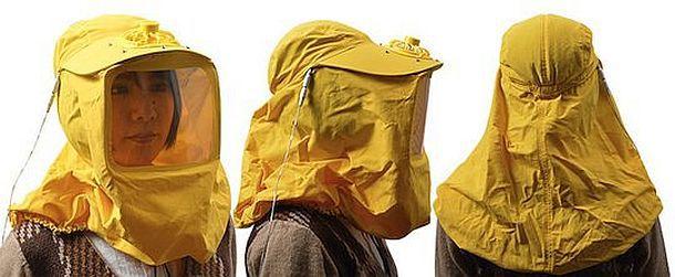 Антиаллергическая защитная маска с USB вентилятором Pollen Blocker