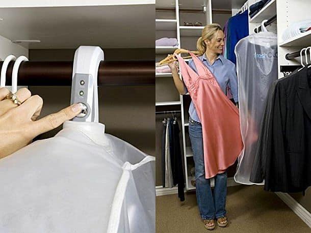 Вешалка-озонатор для одежды и обуви  Freshcloz