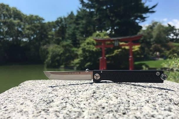 Карманный складной нож-брелок Pocket Samurai