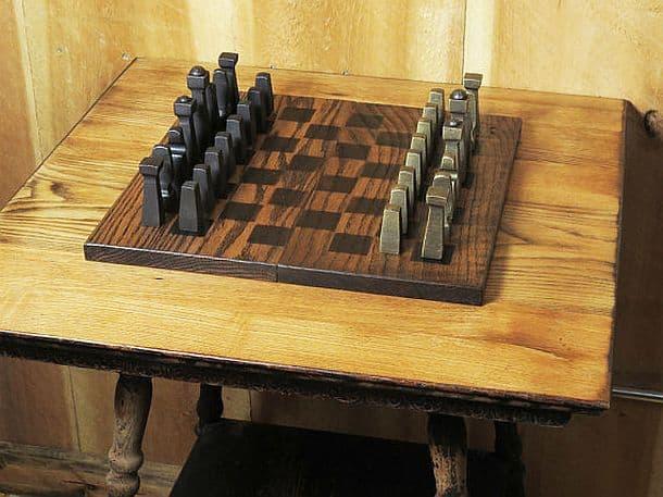 Кованые шахматы ручной работы Blacksmith