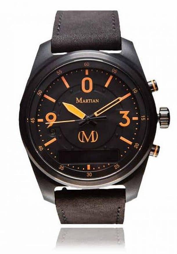 Наручные часы с голосовым управлением mVoice от компании Martian