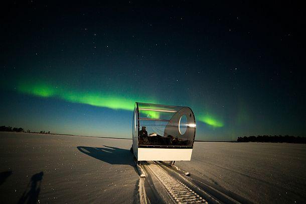 Панорамные сани Aurora Bubble Sled