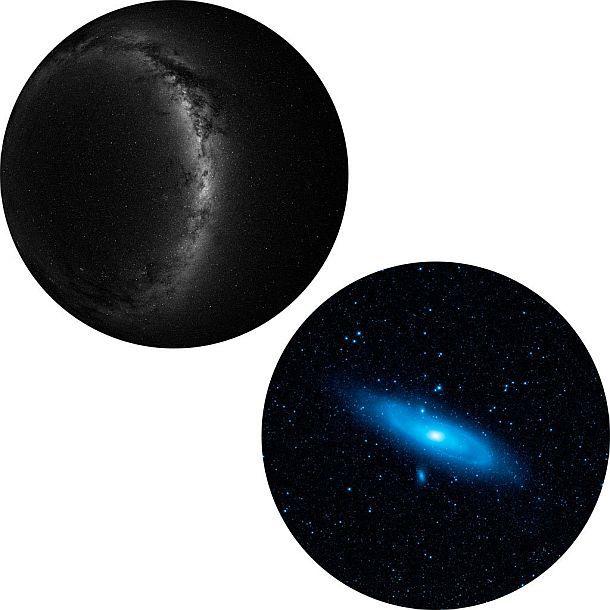 Проектор южного полушария и Андромеды