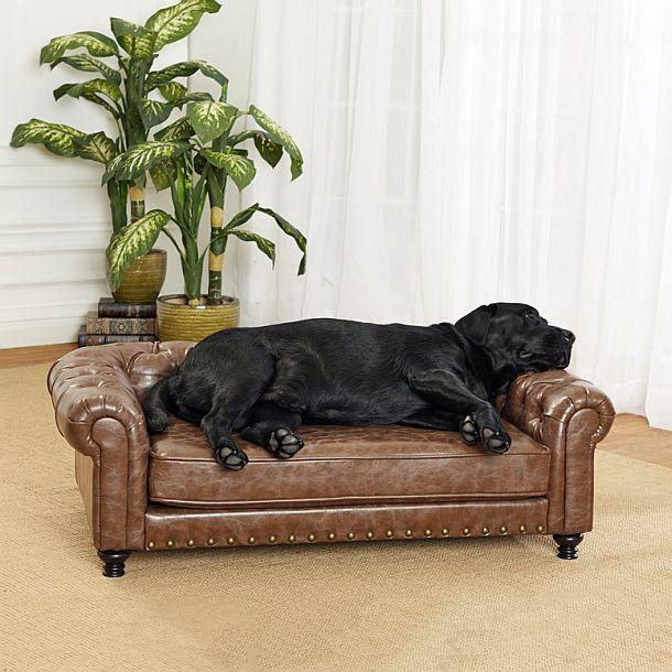 Роскошный стеганый диван для собак Wentworth