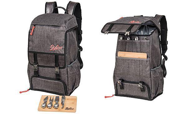 Рюкзак для пикников и путешествий Igloo с набором столовых аксессуаров