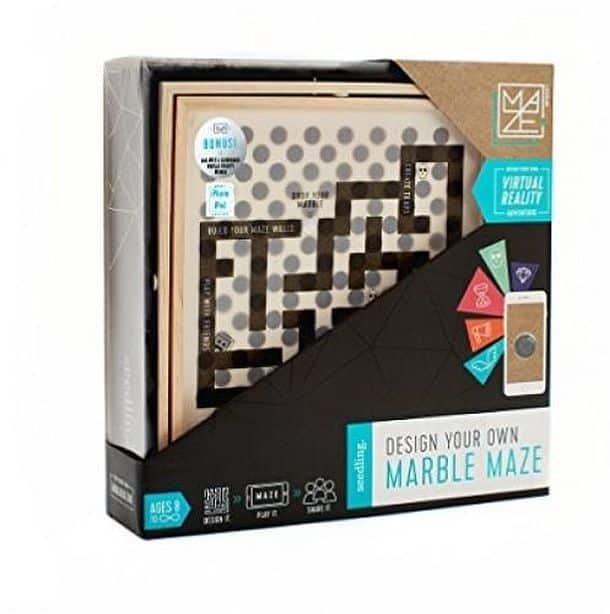 Самодельный лабиринт с виртуальной реальностью VR Marble Maze