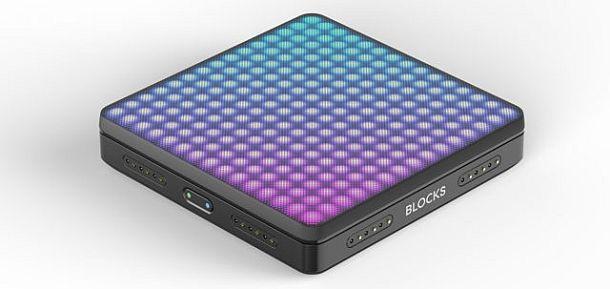 Сенсорный блок для создания электронной музыки LightPad