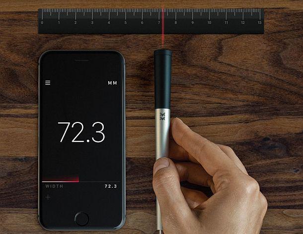 Умная измерительная лазерная ручка InstruMMents