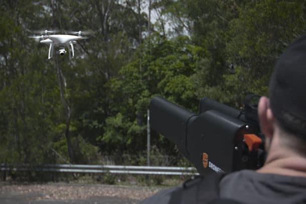 Устройство для обезвреживания дронов DroneGun