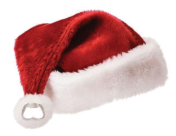 Шапочка Санта Клауса с открывалкой