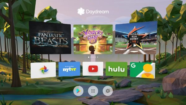 Агрегатор VR-контента Daydream от Google