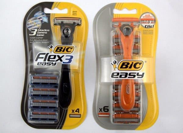 Гибкая и простая бритва Bic Flex&Easy