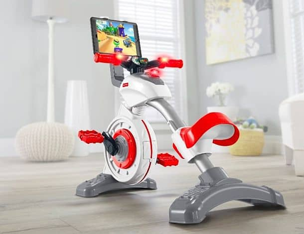 Детский развивающий велотренажер