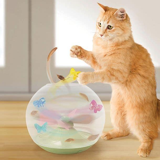 Динамическая игрушка для кошек Flitter Fly