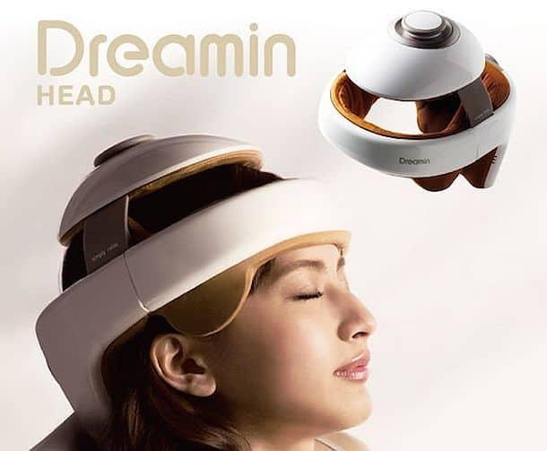 Массажный шлем Dreamin Head для снятия стрессов