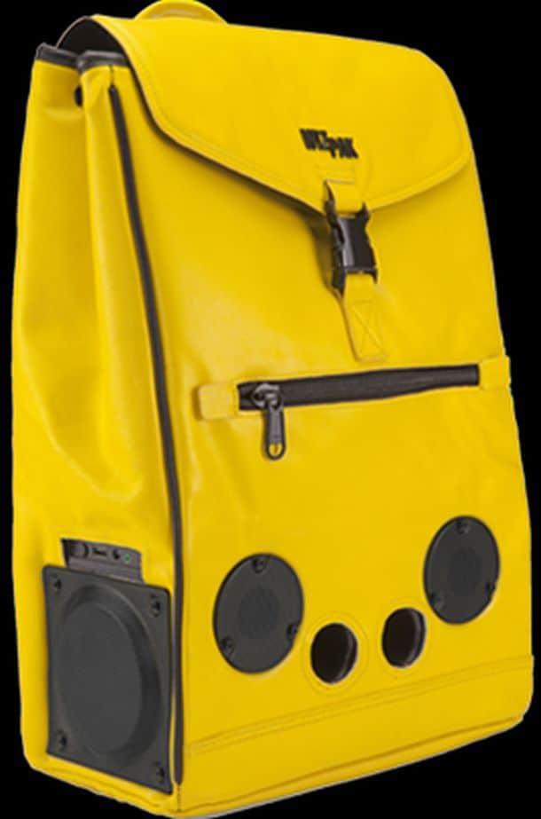 Рюкзак со встроенными колонками рюкзак компании бэгберри